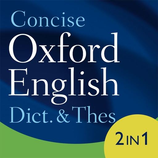 Concise Oxford Dict. & Thes. iOS App