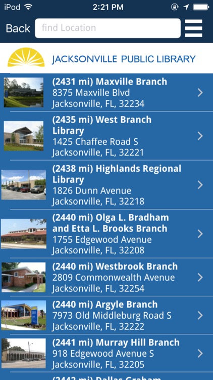 Jacksonville Public Library screenshot-3