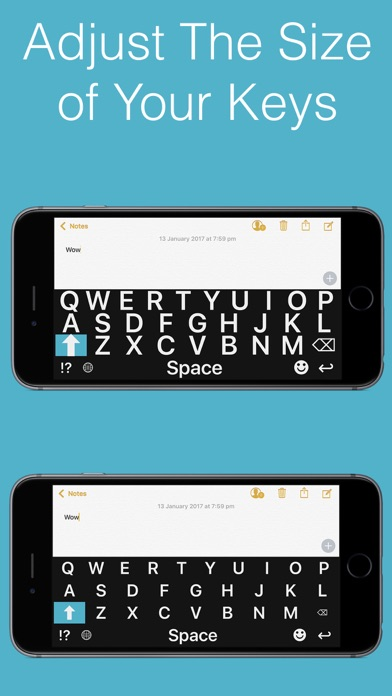 Big Keys Keyboard Screenshots