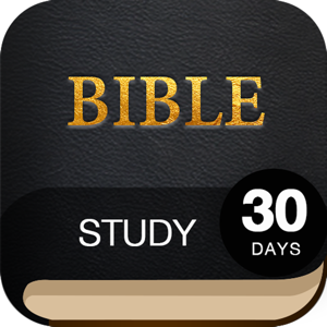 30 Day Bible Study Challenge - Offline Study Bible Reference app