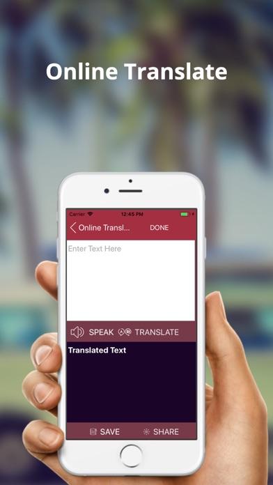 English to Zulu Translator screenshot four