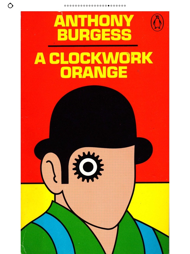Image result for a clockwork orange novel