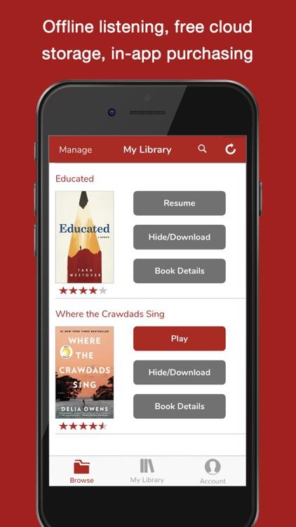 Audiobooks Now Audio Books screenshot-3