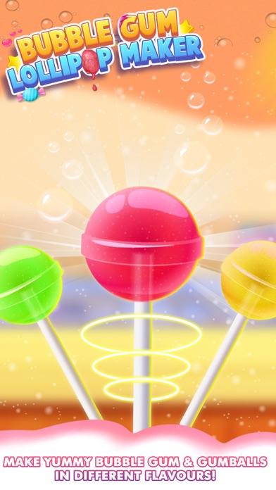 Bubble Gum Lollipop Maker screenshot three