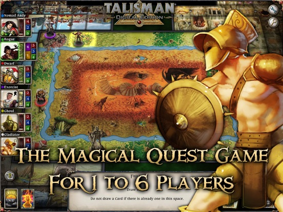 Screenshot #1 for Talisman: Digital Edition