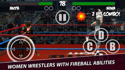 Women Wrestling Physics Battle screenshot three