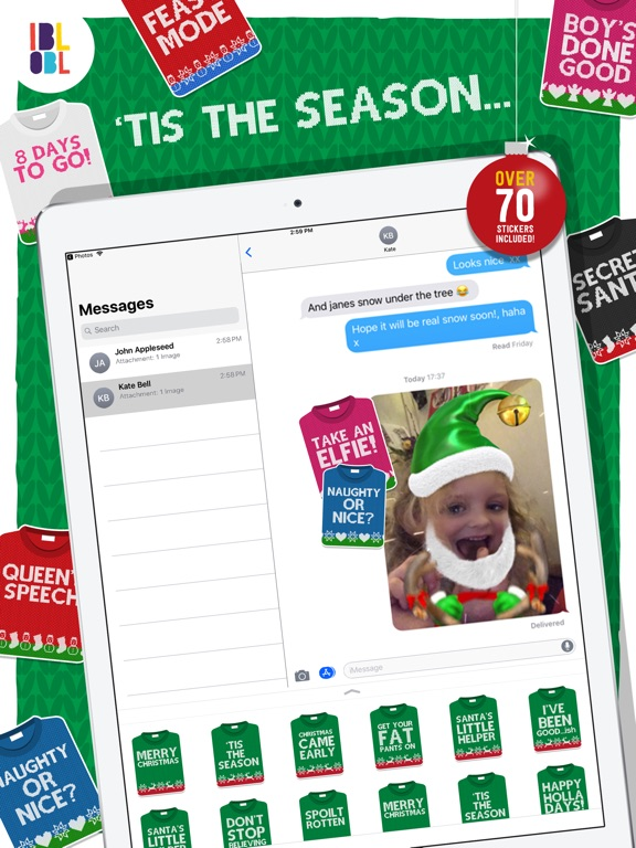 Christmas Jumpers for iMessage screenshot 4