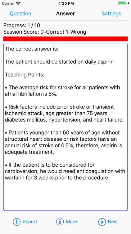 Cardiology Board Reviews screenshot-6
