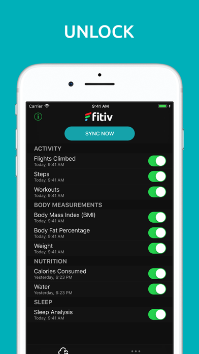 FITIV Sync for Fitbit Activity by MotiFIT Fitness Inc  (iOS