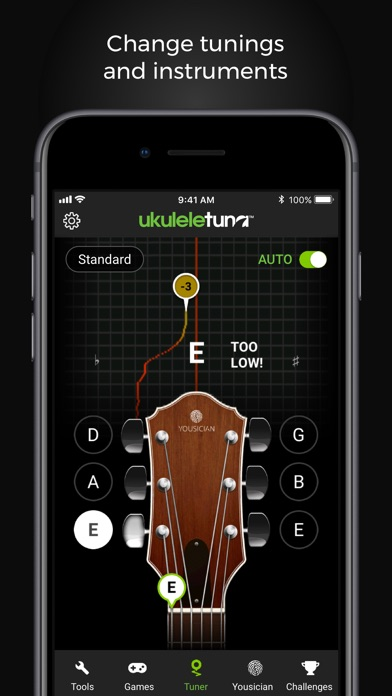 UkuleleTuna: Ukulele Tuner screenshot three