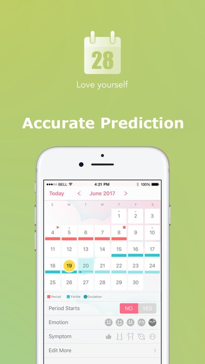 Period Tracker by PinkBird screenshot-3