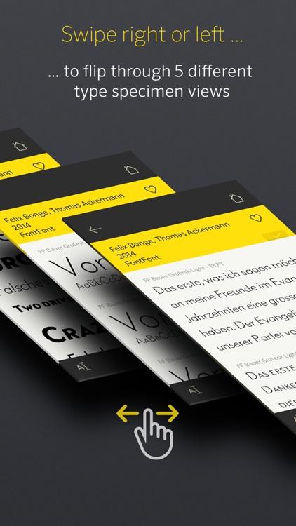 FontBook™ Typeface Compendium screenshot-4