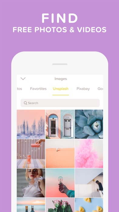 Over: Photo & Video Editor Screenshots