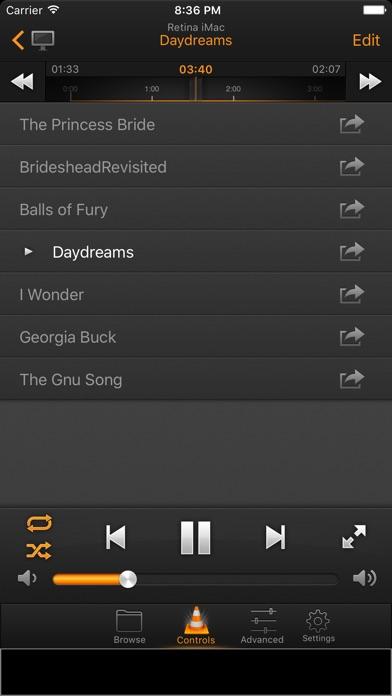 VLC Remote Lite screenshot two