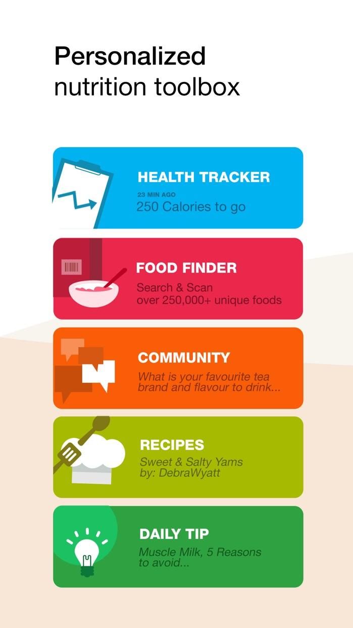 Fooducate - Nutrition Tracker Screenshot