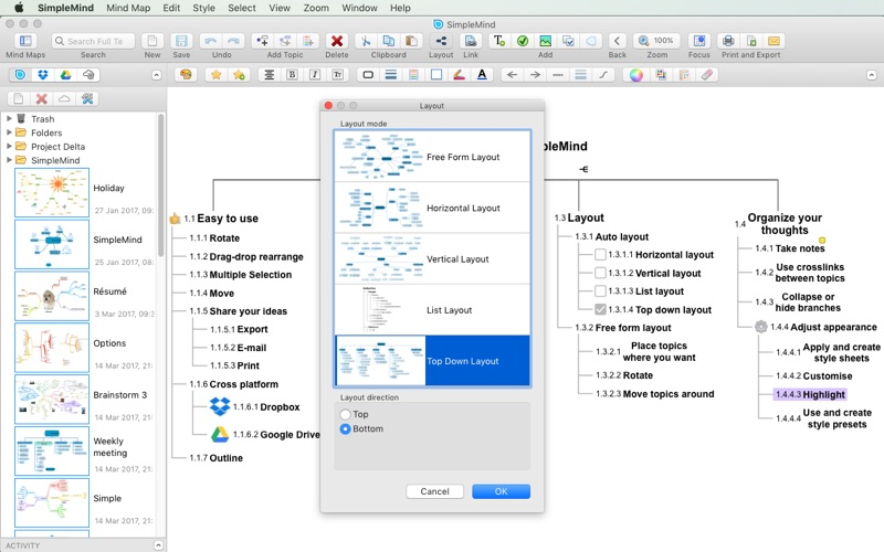 SimpleMind - Mind Mapping Screenshots