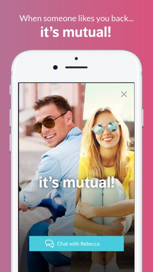 Mutual friends dating service