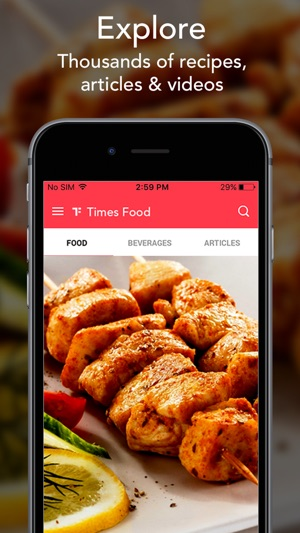 Times food indian recipes cooking celeb chefs on the app store iphone screenshots forumfinder Images
