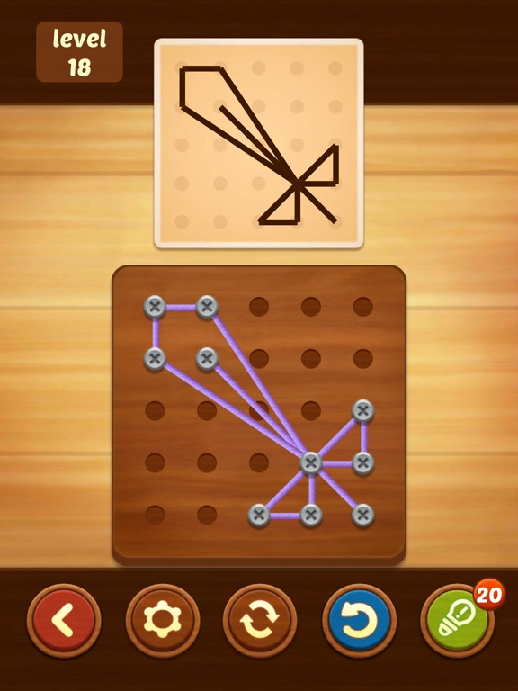 Line Puzzle: String Art screenshot 14