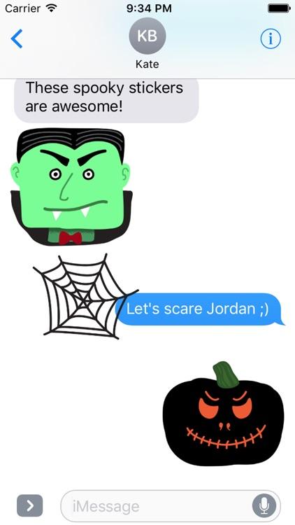 Spooky Smiles Sticker Pack screenshot-3
