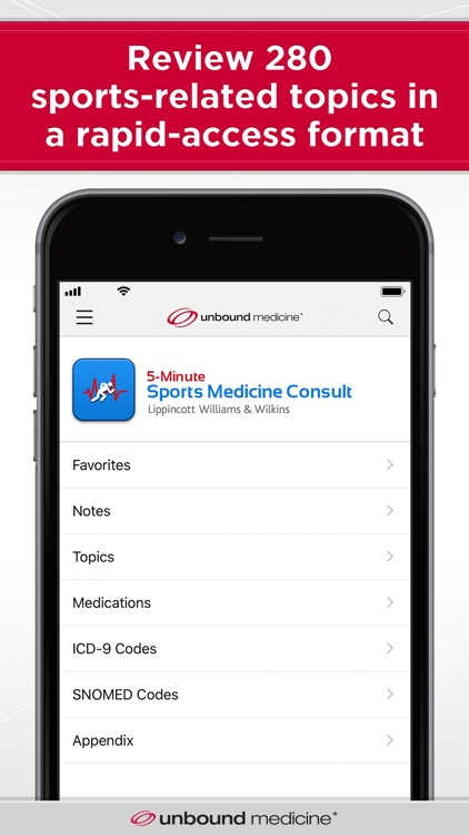 5-Min Sports Medicine Consult