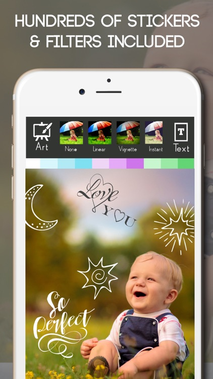Baby Photo Editor Sticker Pics screenshot-3