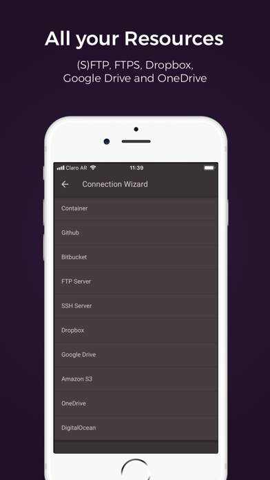 Codeanywhere - IDE, FTP, SSH screenshot four