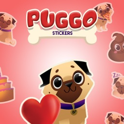 Dog Pugs - Animated Stickers