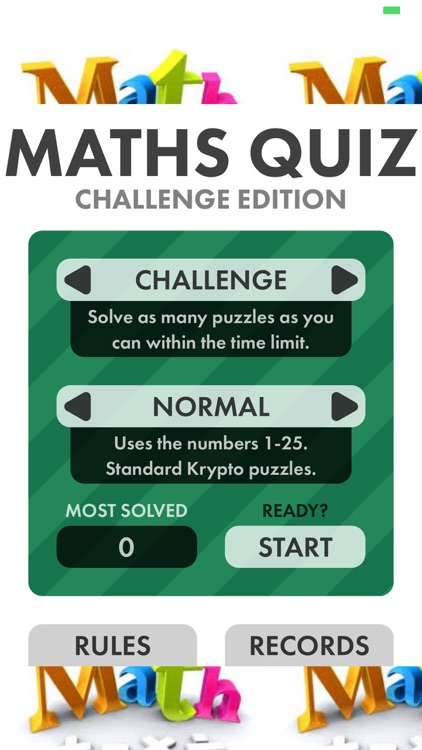 Math Puzzle Quiz