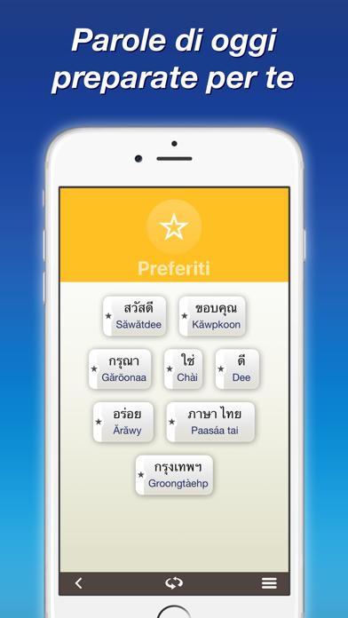 Screenshot of Tailandese — Imparare con Nemo4