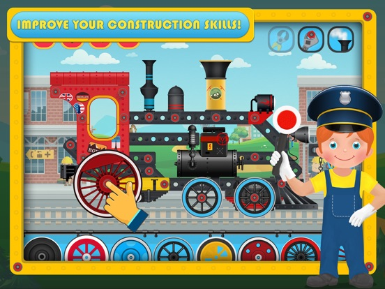 Train Simulator & Maker Games на iPad