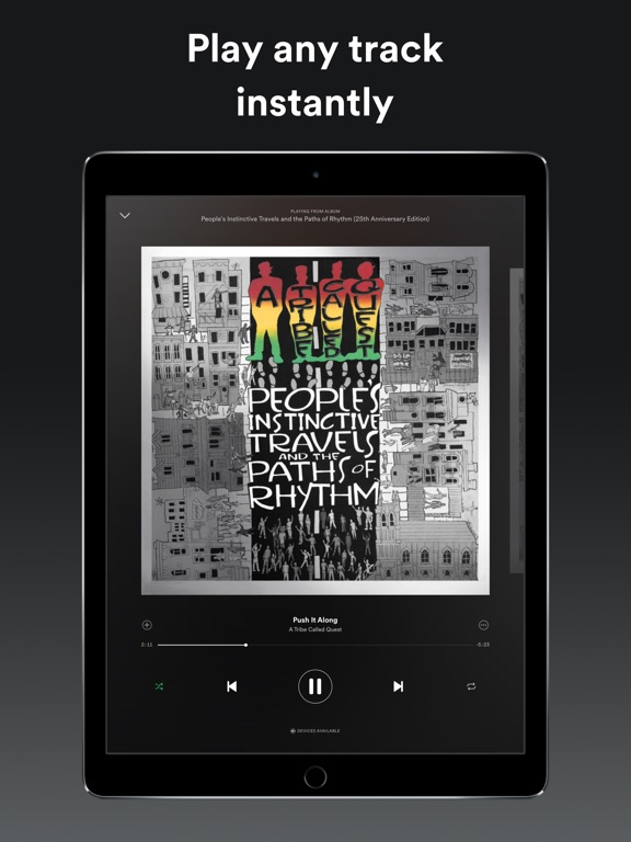Spotify Music iPad