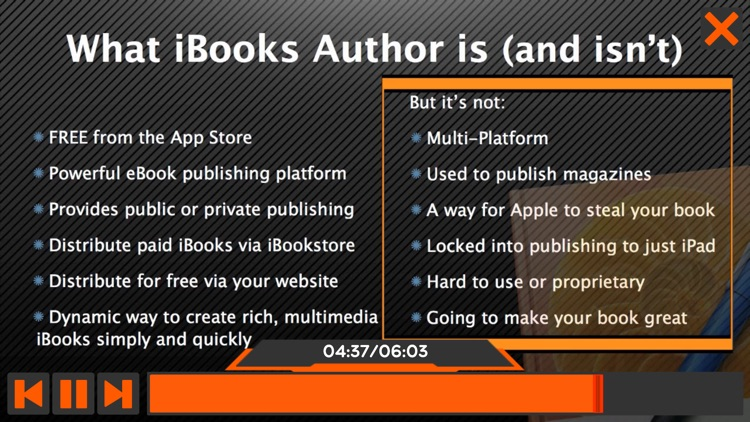 Course for iBooks Author 101 screenshot-3