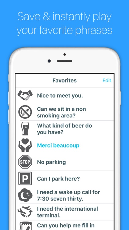 English to French (Parisian) screenshot-3