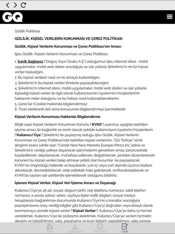 GQ Türkiye Скриншоты11