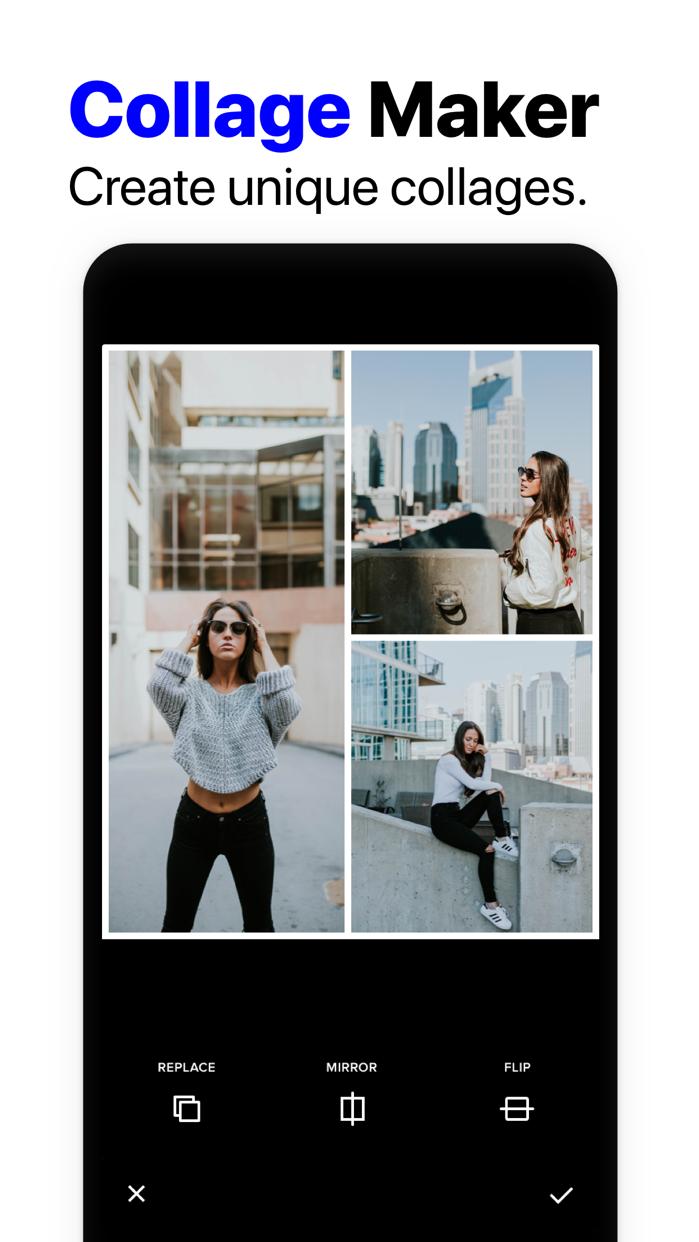 InstaSize Photo Picture Editor Screenshot