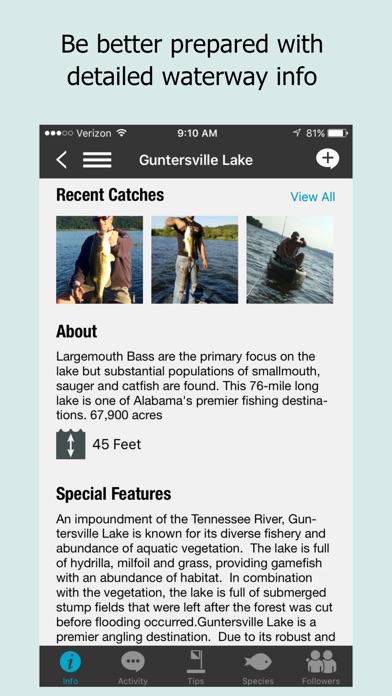 Fishidy: Fishing Report Maps app image