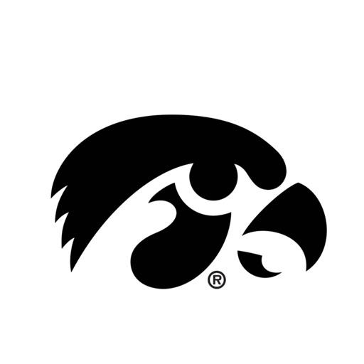 University of Iowa Hawkeyes Stickers PLUS