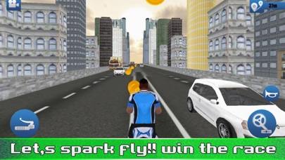 Extreme Bicycle City Race screenshot