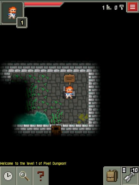 Pixel Dungeon на iPad