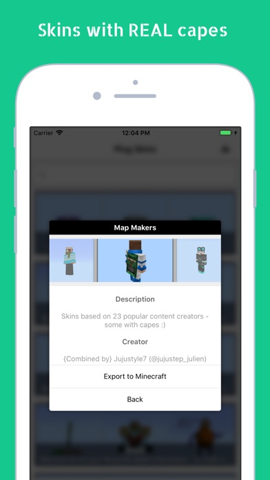 Plug Skins 4D for Minecraft screenshot 8