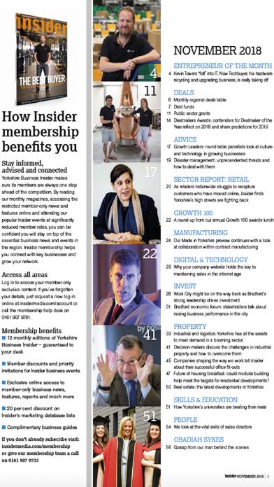 Yorkshire Business InsiderScreenshot of 2