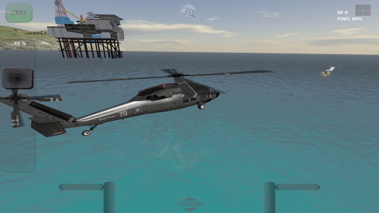 Black Hawk 3D Flight Simulator screenshot-0