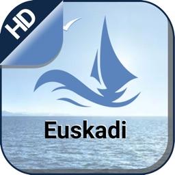 Euskadi Islands offline nautical chart for fishing