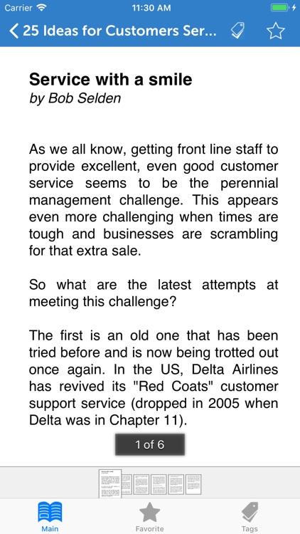 MBA Series: Customer Service screenshot-3