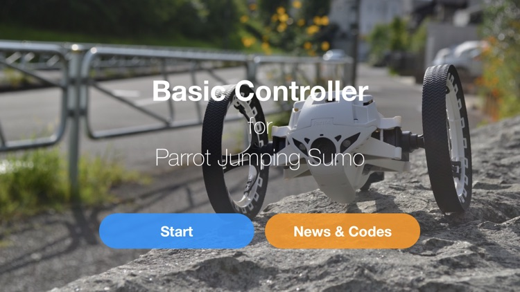 Basic Controller for Jumping Sumo