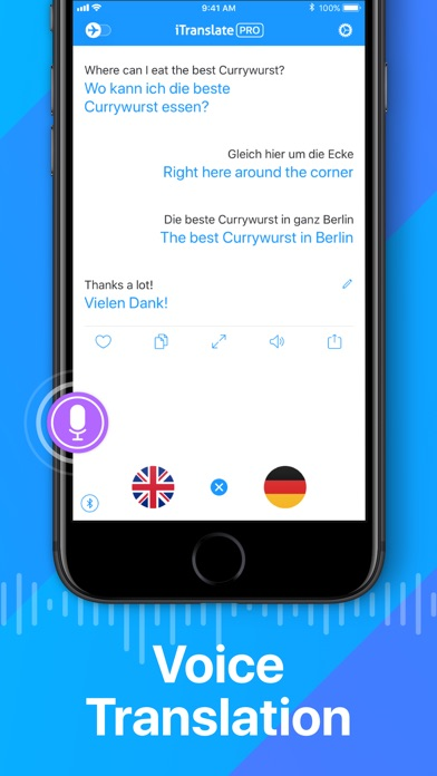 Itranslate Translator review screenshots