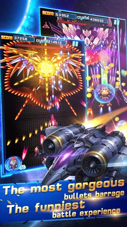 Galaxy Attack War: Raiden