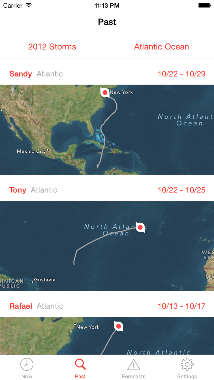 My Hurricane Tracker & Alerts Screenshot