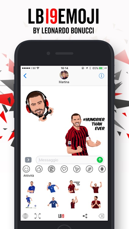 LB19Emoji by Leonardo Bonucci screenshot-2